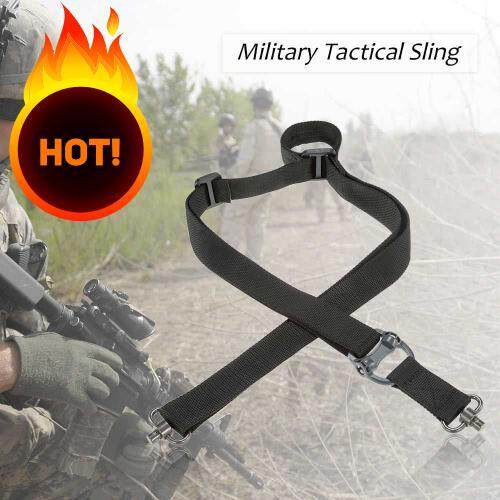 Docooler Military Tactical Safety Two Points Outdoor Belt Qd Series Sling Adjustable Strap (black) By Aa Online.