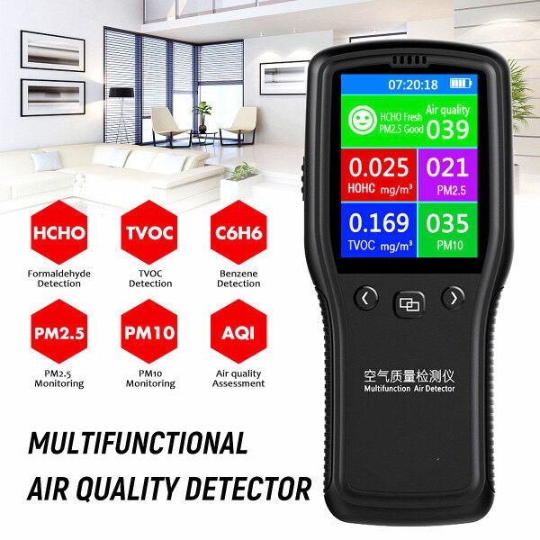 8In1 PM2.5 PM10 Hcho Máy Dò Chất Lượng Không Khí Formaldehyde Kỹ Thuật Số Detector