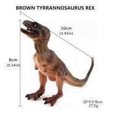 Khủng long T-Rex Tyrannosaurus Bảo Tàng Thực Tế Nhân Vật Hành Động Mẫu Kid Đồ Chơi Quà Tặng