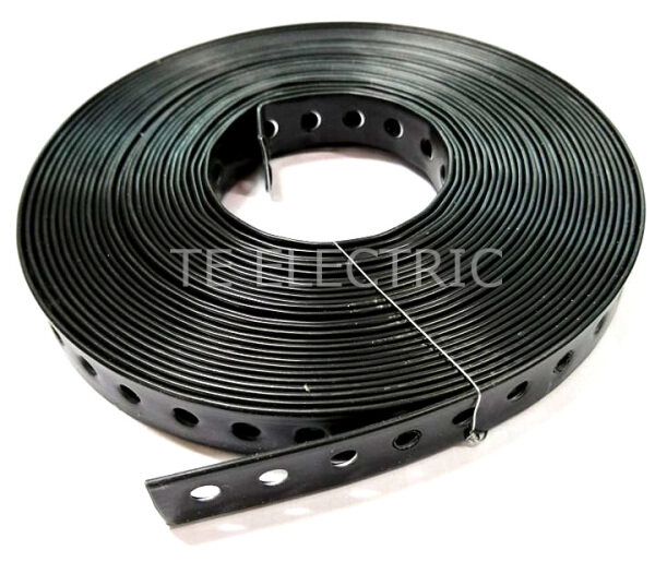 (10MTR) 17MM PVC COATED STEEL BEND INSULATED WEATHERPROOF ANTI RUST