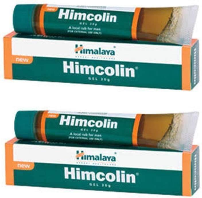 Himalaya Himcolin Gel 2pcs Premature & Erectile Dysfunction -30g Tube