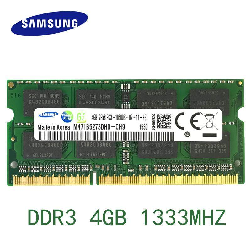 Ddr3 4gb 1333mhz Pc3-10600 Laptop Ram Afor Laptop Computer Notebook Memory Memoria Sodimm M471b5273dh0-Ch9 By Hongweichuangxing Store.