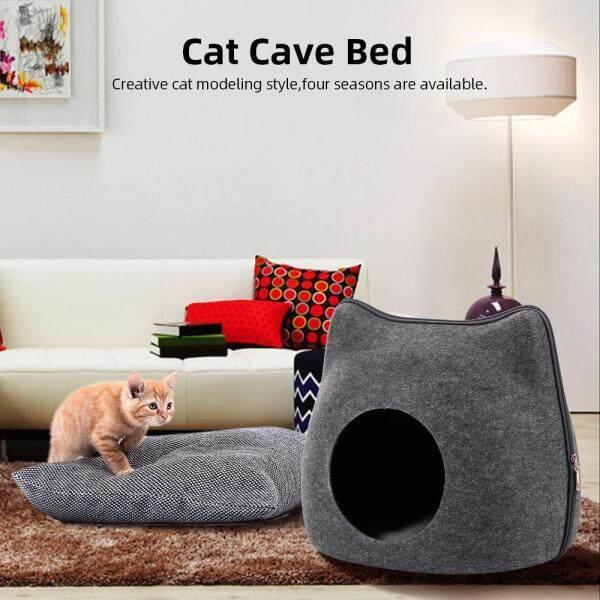 Cat Pet Cave Cat Cave Giường Mèo Giường Cho Mèo Mèo Mèo Thú Cưng Mat Cho Mèo Hang Giường Mèo Ngủ Giường Ngủ Mềm Mại & Thoải Mái