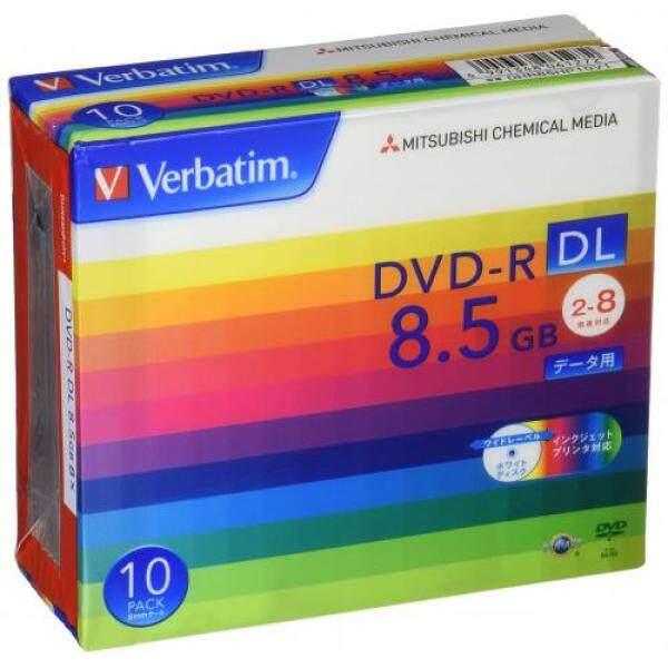 Verbatim Verbatim once recorded for DVD-R DL 8.5GB 10 sheets white printable single-sided, dual-layer 2-8 speed DHR85HP10V1