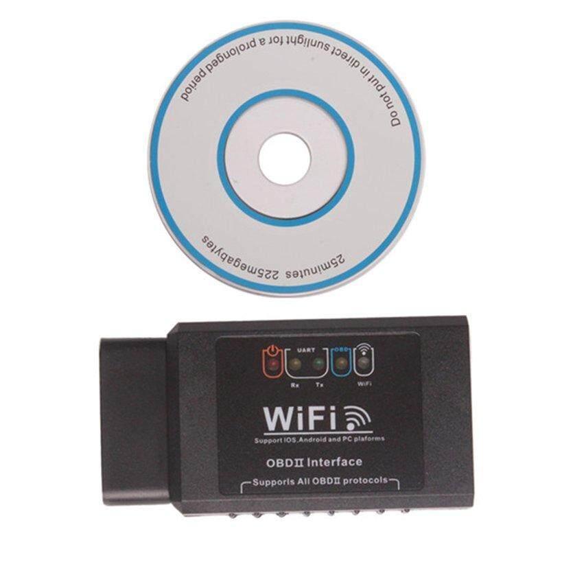 ĐẦU Phát Wifi Xe Hơi OBD2 Công Cụ Chẩn Đoán Máy Quét Mã dành cho IOS và Android PC