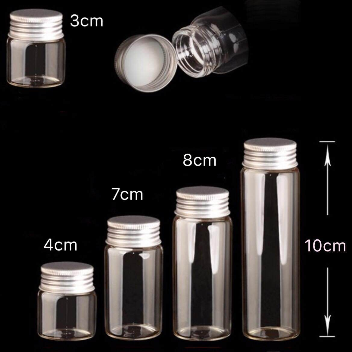 Storage Glass Bottle