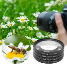 Bộ lọc ống kính máy ảnh kính quang học cận cảnh + 1 + 2 + 4 + 10 bộ lọc ống kính 58mm cho Canon cho Nikon cho máy ảnh Sony