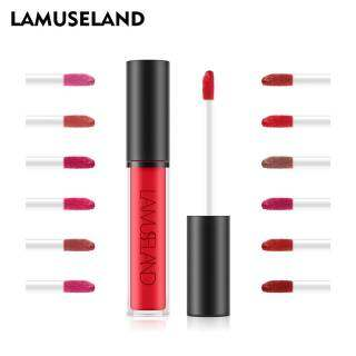 Son Bóng Dạng Lỏng Lamuseland, 12 Màu, Không Thấm Nước, Bền Màu, La01 La03 thumbnail