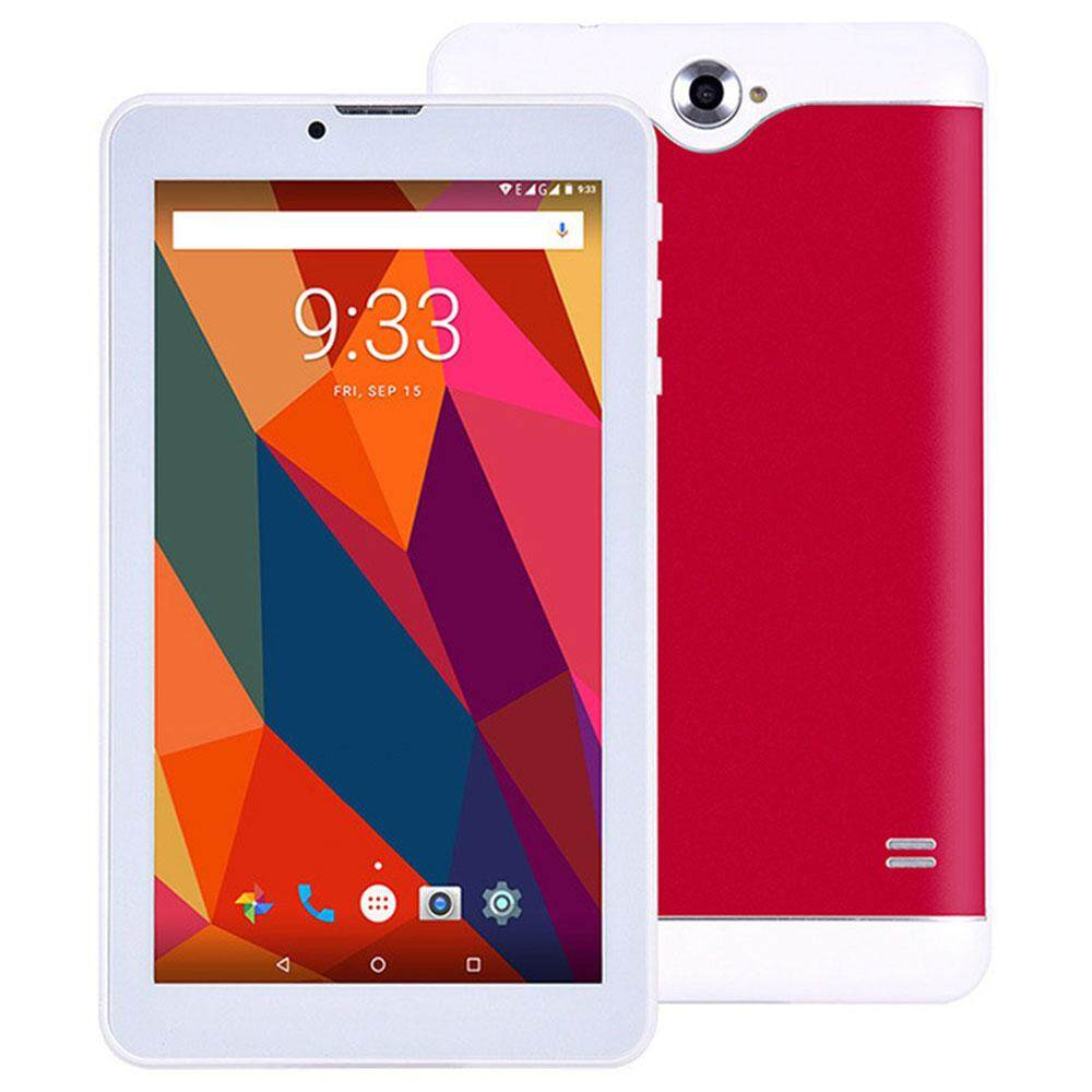 7 Inches 3G Smart Tablet  Android 4.4 MTK6582 Quad-Core 512MB RAM+8GB ROM OTG Dual sim card Music Portable 1024x600