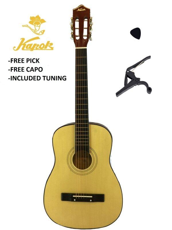 Kapok Acoustic Guitar NATURAL Malaysia