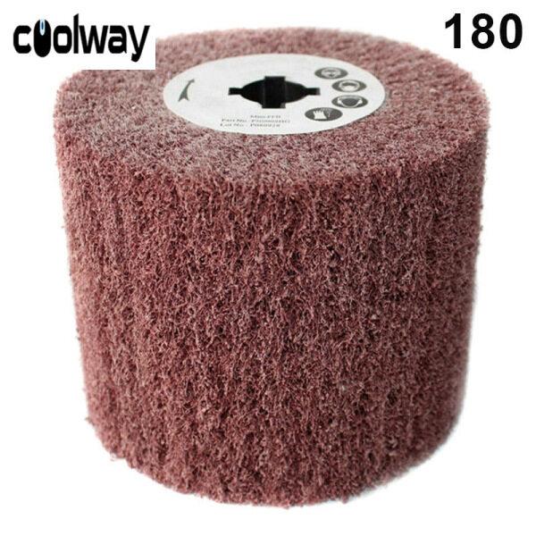 Coolway Tấm Cọ Rửa Bánh Xe Nắp Không Dệt, Đĩa Đánh Bóng Đánh Bóng Vẽ Dây