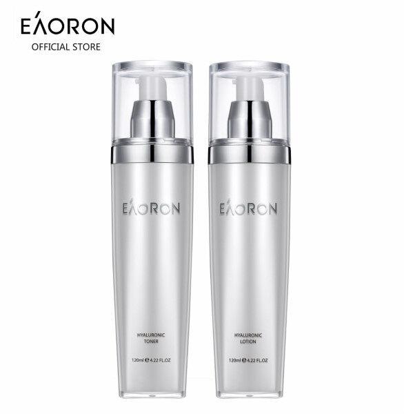 Buy 【Bundle Promo】EAORON Hyaluronic Toner and Lotion (120ml X 2 bottles) Singapore
