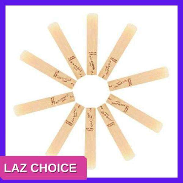 LAZ CHOICE Normal Level G Clarinet Reeds Strength 2.0 for Beginners, 10pcs/ Box (1) Malaysia