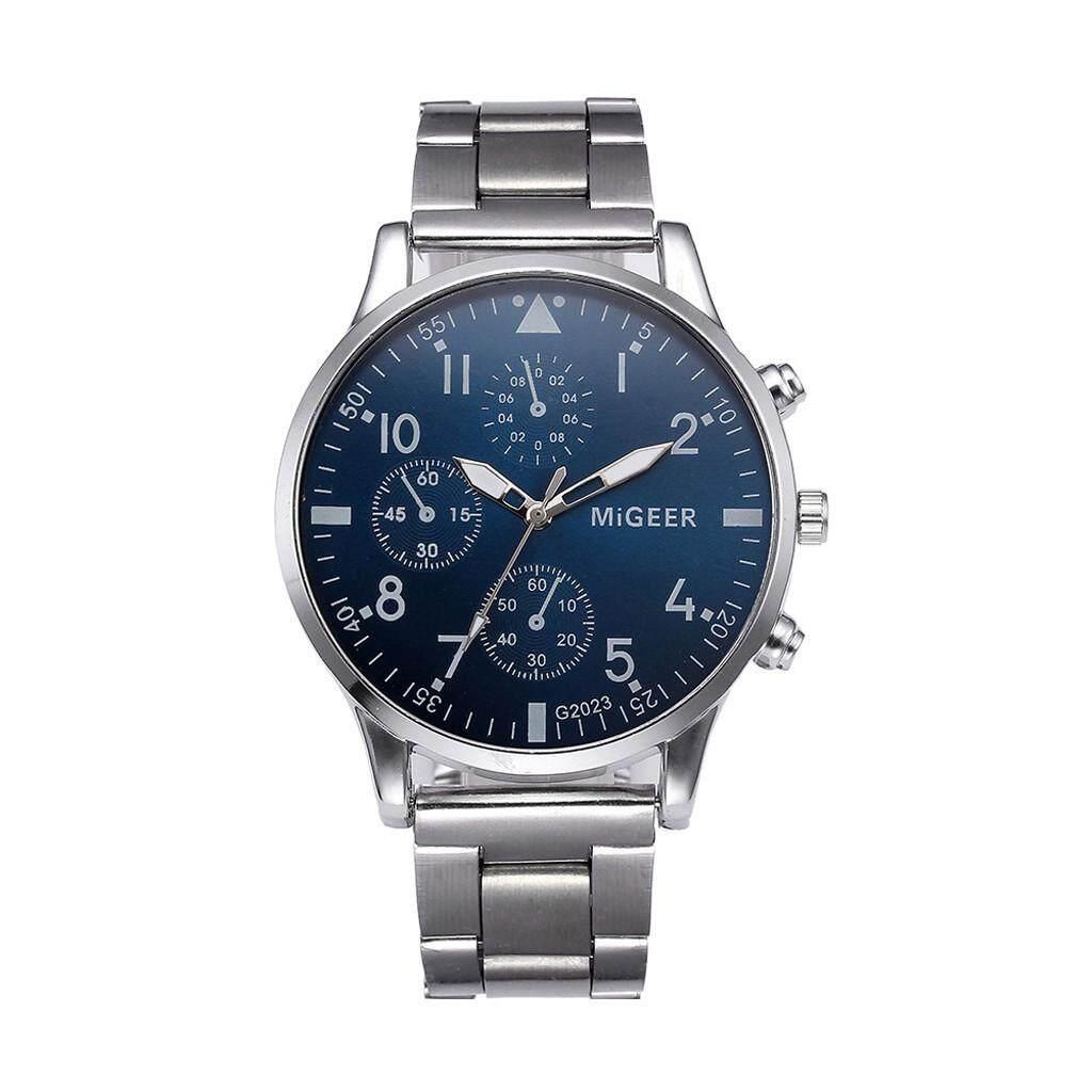 2019 จัดส่งฟรีนาฬิกาผู้ชายใส่สบายๆ.
