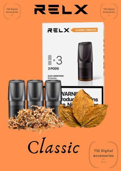 Relx pod original ✔️经典烟草 classic tabacco✔️ Malaysia