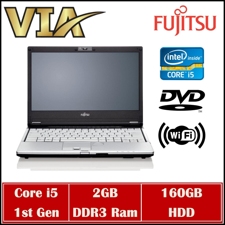 Fujitsu LifeBook FJNB20L~Core i5 (1ST GEN)~2GB DDR3 RAM~160GB HDD~14 Inch~DVD ROM Malaysia