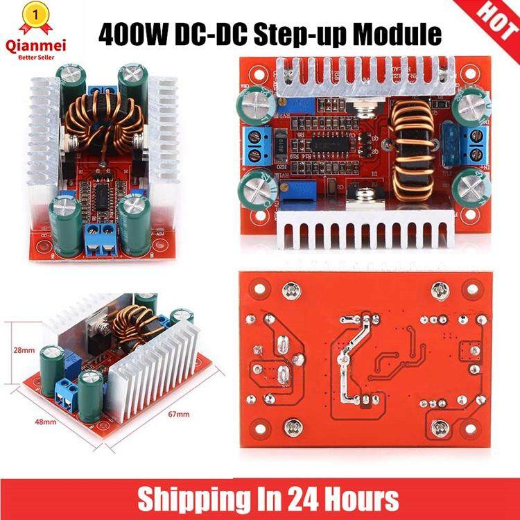 Qianmei 400W DC-DC Step-up Boost Converter Constant Current Power Supply  Module Driver