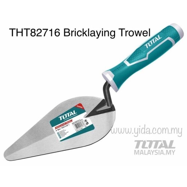 TOTAL THT82716 Bricklaying Trowel