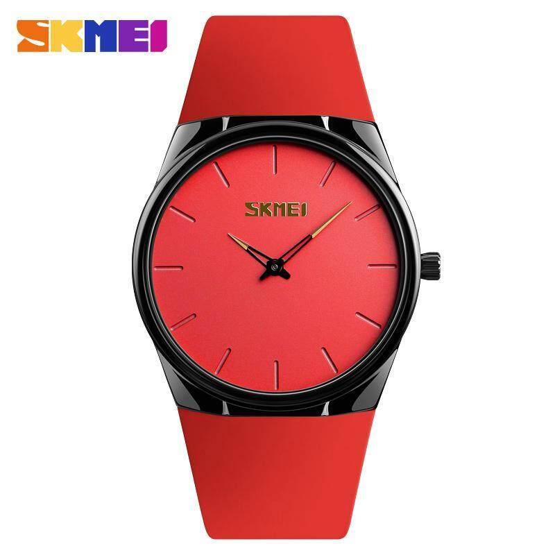 Đồng hồ thạch anh SKMEI 1601S cho nam và nữ, đồng hồ đeo tay bằng hợp kim nhẹ, mỏng, chống nước, thời trang giản dị hàng ngày - INTL