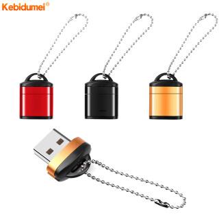 Kebidumei Đầu Đọc Thẻ USB 2.0 Tốc Độ Cao Mini Bộ Chuyển Đổi Thẻ TF USB Mini Dành Cho Thẻ Nhớ, Dành Cho Máy Tính PC Máy Tính Để Bàn Máy Tính Xách Tay Máy Tính Xách Tay thumbnail