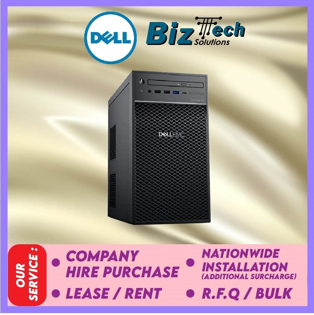 Dell PowerEdge T40 Tower Server (T40-E-2224G-8GB-1TB) Leasing Rental Hire Purchase Installment Malaysia