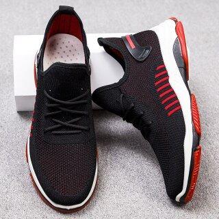 Giày Dệt Thường Ngày Mùa Xuân Và Mùa Thu Mới, Giày Chạy Thể Thao Chống Mòn, Giày Nam Đế Bằng Thoáng Khí Sneakers 2021 thumbnail