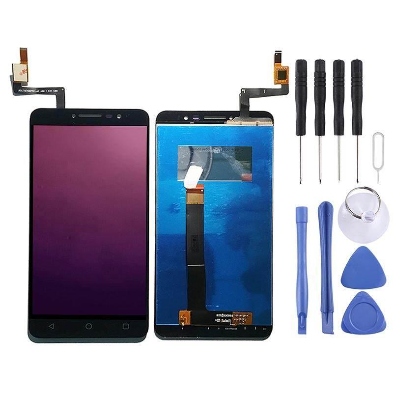 Layar LCD dan Digitizer Penuh Perakitan untuk Alcatel A3 XL 9008/9008X/9008D/OT-9008/OT9008 (HITAM)