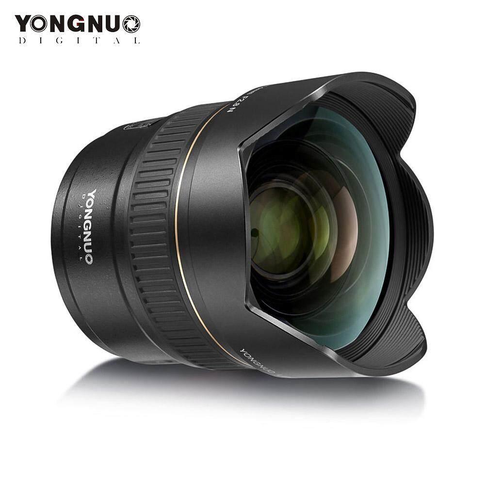YongNuo YN14mm F2.8N Ultra-Wide Angle Lensa Utama Auto/Manual Focus 114 ° Diagonal Sudut untuk Nikon D5600 D5500 d5300 D3500 D7000 D7100 D7200 D800 D850 D600 Kamera DSLR