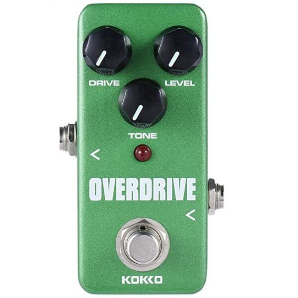 KOKKO FOD3 Guitar Mini Effects Pedal Over Drive - Warm and Natural Tube Overdrive Effect Sound Processor Portable Accessory for Guitar and Bass Malaysia
