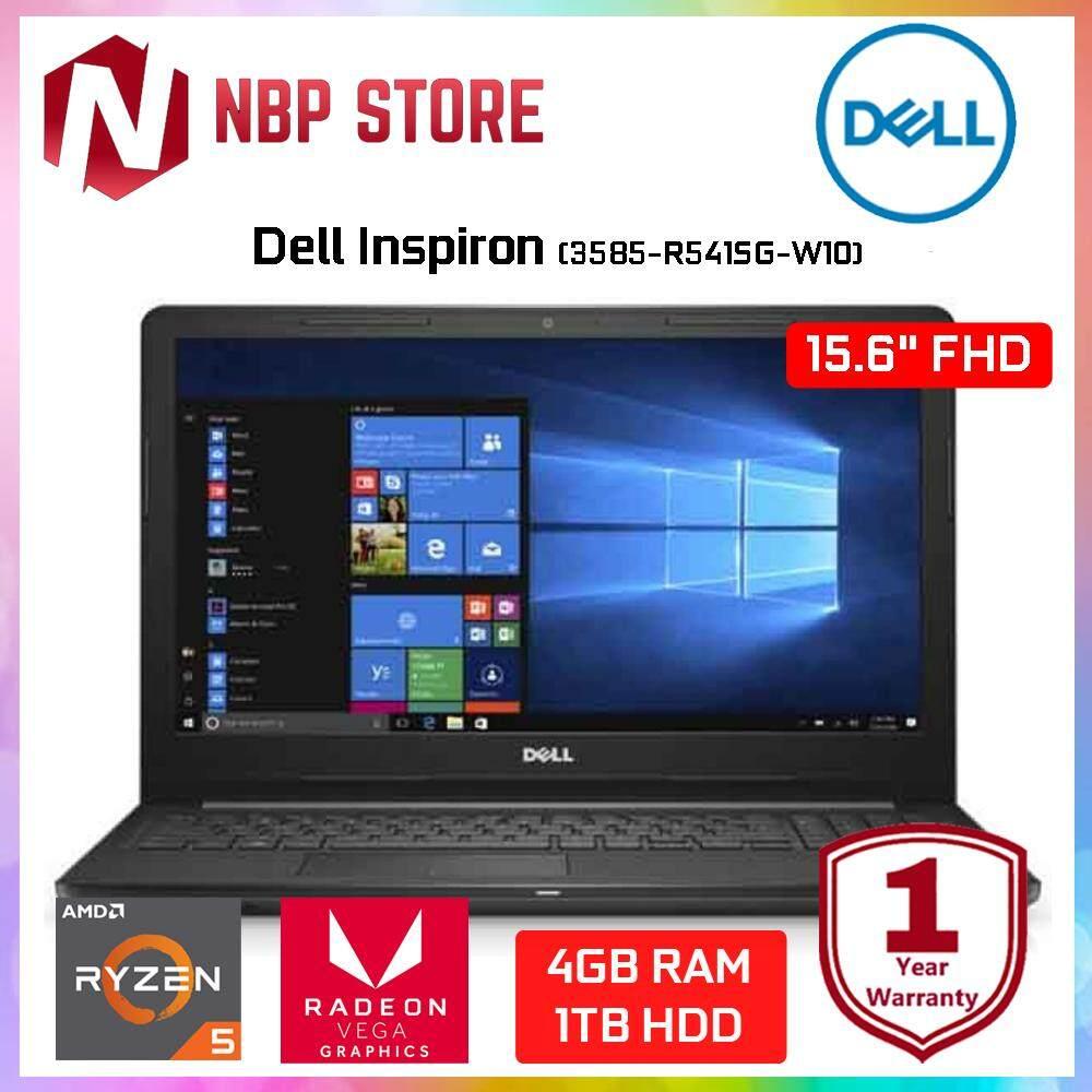 Dell Inspiron 3585-R541SG-W10 15.6  FHD Laptop Black (Ryzen 5 2500U, 4GB, 1TB, ATI, W10) Malaysia