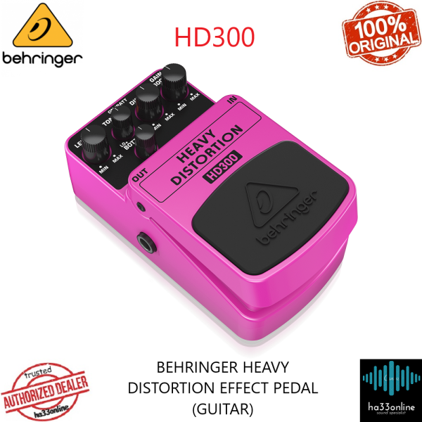 BEHRINGER HD300 HEAVY METAL DISTORTION EFFECTS PEDAL Malaysia