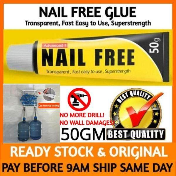 Nail Free Glue Sealant Fix Adhesive Super Strong Nail Free Glue DIY Household Super Strong Glue Gam Kuat Deco Rumah