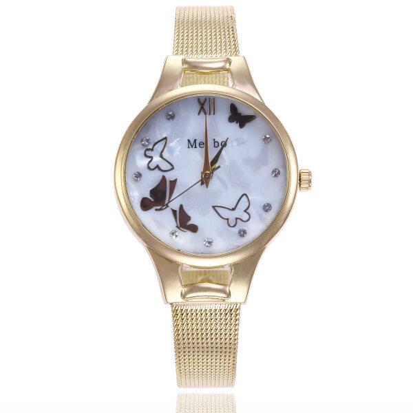 2020 Best Selling Fashion Watch Women Butterfly Watches Ladies Luxury Golden Silicone Band Quartz Wristwatches Clocks kol saati Malaysia
