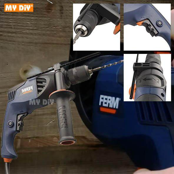 MYDIYHOMEDEPOT - Ferm Impact Drill 710w Pdm1036s