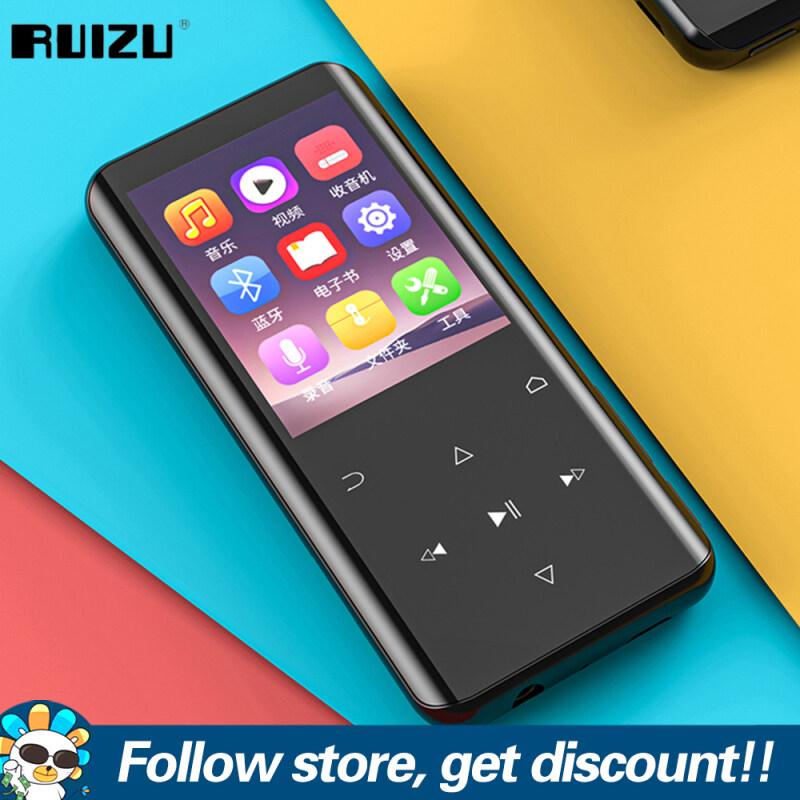 RUIZU D25 16GB 32GB MP3 MP4 Máy Nghe Nhạc Máy Nghe Nhạc Bluetooth 2.4 Màn Hình HD Cong 5.0 Inch Dụng Cụ Học Tiếng Anh Cầm Tay, Máy Nghe Nhạc Lossless Nhẹ Hỗ Trợ Ghi Âm FM Đài Phát Thanh