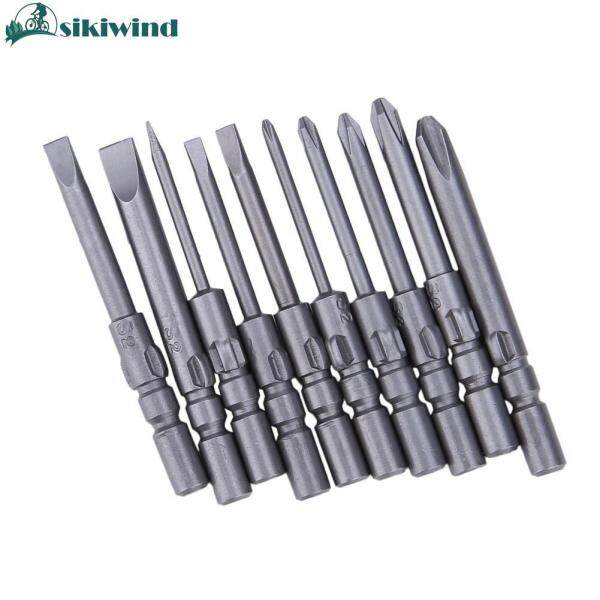 10pcs 40mm Alloy Steel Magnetic Screwdriver Bits Set For DC Powered Electric Screwdriver