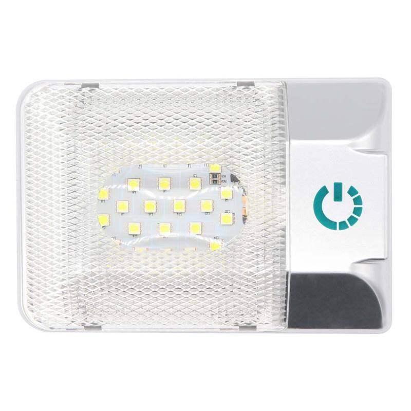 Morica 12V 24 LED RV Trần Dome Ánh Sáng Vô Cấp Dimmable RV Chiếu Sáng Nội Thất Trailer Lights Cho Camper RV 3.6 Wát