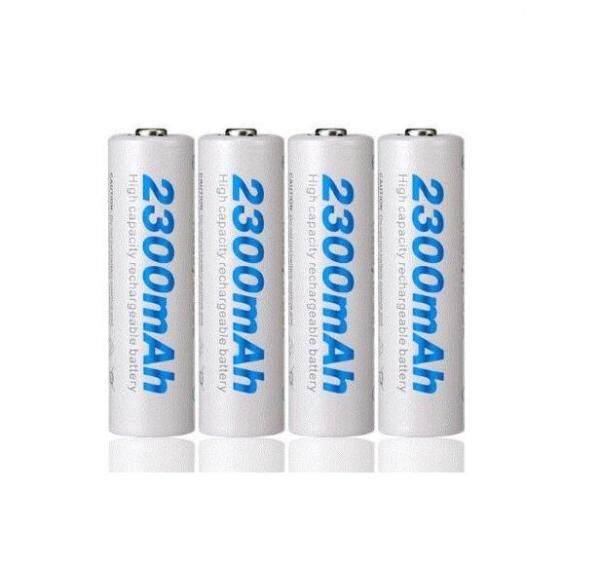 Beston Pack of 8 AA 2300mAh Ni-MH Rechargeable Battery Capacity