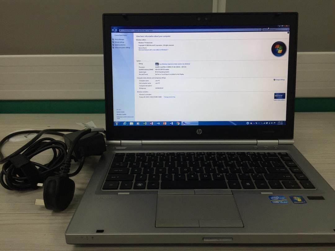 Industry Used HP Elitebook 8460p Business Laptop Malaysia