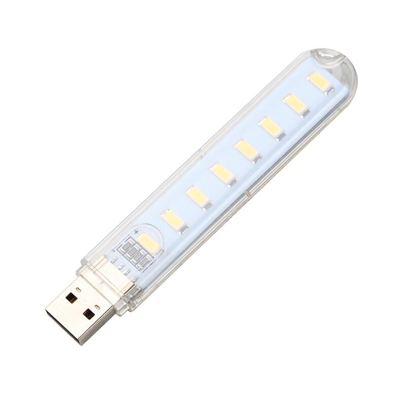 Bảng giá 4 Đèn LED USB 8 Đèn LED USB 5V Chiếu Sáng Đèn Bàn Đọc Sách Đèn Cắm Trại Bóng Đèn Trắng/ ánh Sáng Ấm Áp Phong Vũ