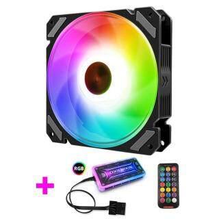 Quạt Máy Tính COOLMOON Quạt Thông Gió Không Ồn Led RGB Điều Chỉnh Được Ốp Lưng Quạt RGB Máy Làm Mát PC 120Mm, Phổ Biến Trọng Lượng Nhẹ Chất Lượng Cao Hiệu Quả Cao thumbnail