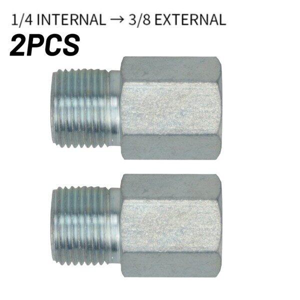 2 Pcs Spray Adapter 2 Pieces 2pcs/set For 1/4 Internal To 3/8 External