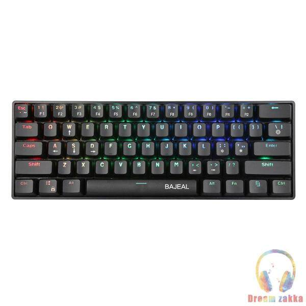61 Keys Wired Type-C Blue Switch Mechanical Laptop Tablet Gaming Keyboard Singapore