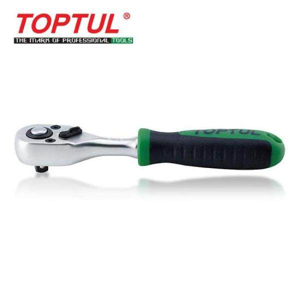 TOPTUL 1/4  DR. Reversible Ratchet Handle with Quick Release (S135)