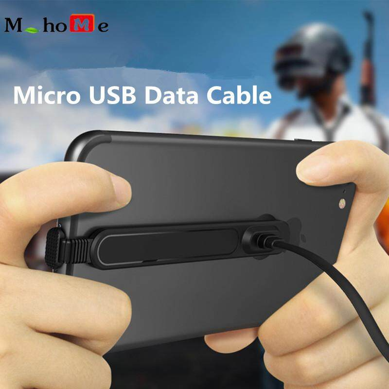 M_home【micro Usb】5v / 2a For Android Fast Charging Data Cable Hand Tour Cable Play Games L Bending Cable By M_home.
