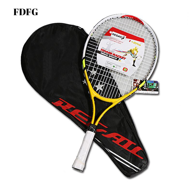 Bảng giá Fdfg Trẻ Em Junior Trẻ Em Thể Thao Tennis Hợp Kim Nhôm PU Tay Cầm Vợt Tennis