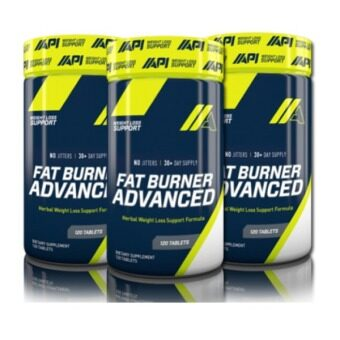 API Fat Burner Advanced 120 Servings 3 Units (New Packaging!)