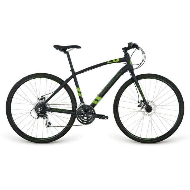 Apollo Trace 20 Hybrid Bicycle 2016 (Matte Black / Matte Green)