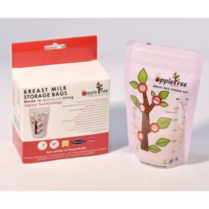 AppleTree Milk Storage Bag 100pcs