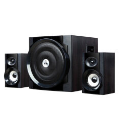 Audio 2.1-channel multimedia computer wired subwoofer speakers(Black) Malaysia